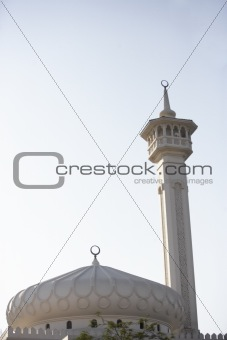 Dubai,Exterior Of Mosque