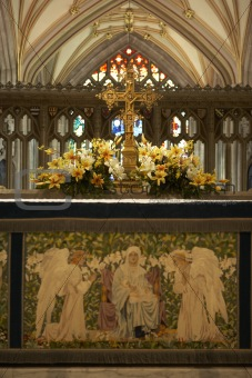 Altar In Bristol Cathedral