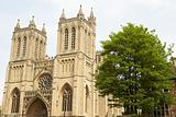 Exterior Of Bristol Cathedral,UK