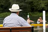 Spectator At Henley Regatta