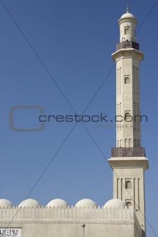 Dubai,Exterior Of Mosque