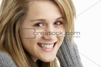 Portrait Of Teenage Girl