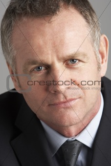 Portrait Of Middle Aged Businessman