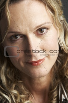 Portrait Of Middle Aged Woman