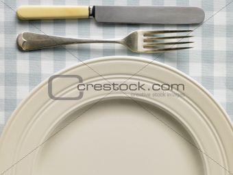 Overhead View Of Place Setting