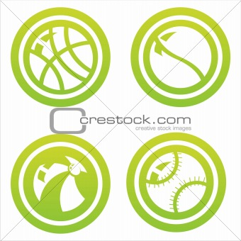 green balls signs