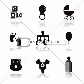 black children icons