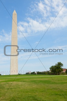 Washington Monument in the National Mall.