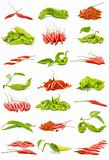 chillies and peppers