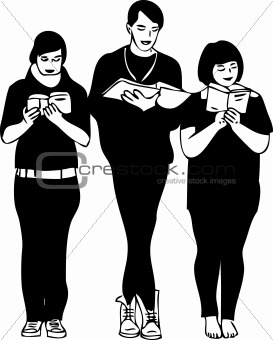 three readers