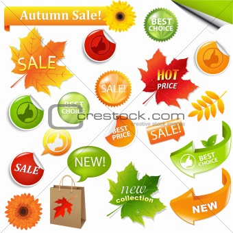 Autumn Collection Sale Elements