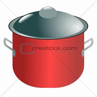 Modern saucepan