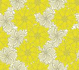 Bicolor yellow seamless background