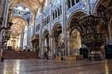 Interior Cathedral. Parma. Emilia-Romagna. Italy.