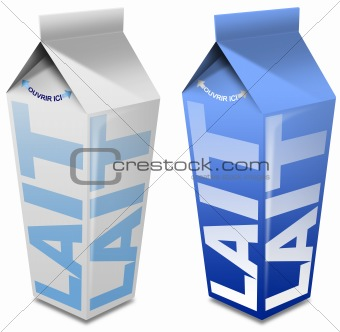 Lait carton - Milk carton