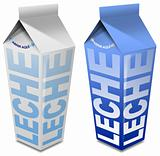 Leche carton - Milk carton
