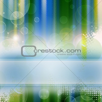 Abstract background - template in green and blue