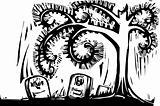 Spiral Tree Grave