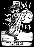 Tarot Card Justice