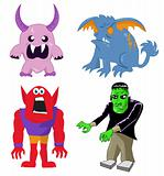 Monster and Character Set