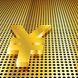 Golden Yen Background