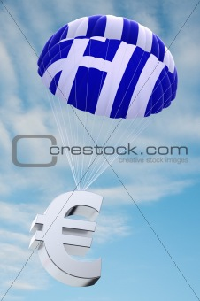 Greece parachute