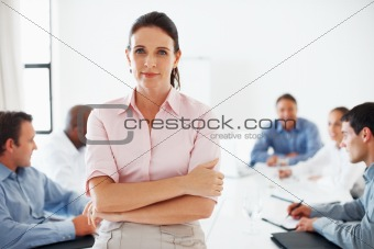 Successful female executive