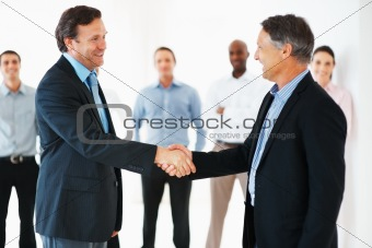 Formal handshake