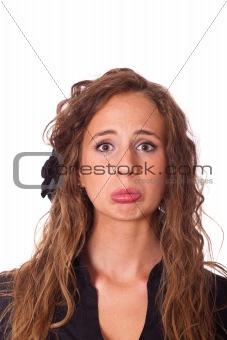 Blonde Young Woman Portrait