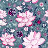texture of lotus