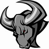 Mascot Bull Vector Illustration