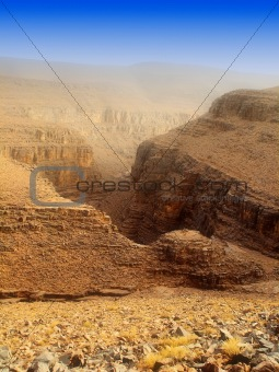 a Morocco canyon