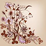 Floral violet