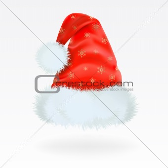 Santa Claus cap. Mesh.