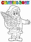 Coloring book Santa Claus topic 2