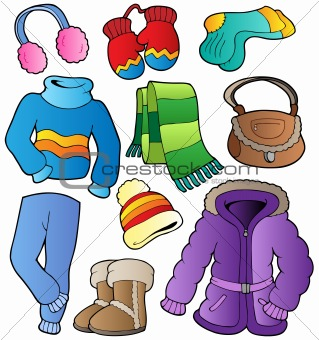 Winter apparel collection 1
