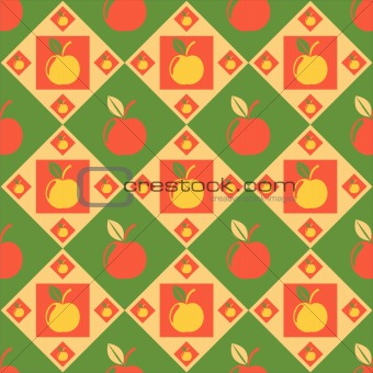 apples pattern