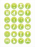 green web signs