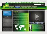 Web site design template 34