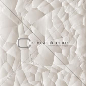 Crumpled paper texture