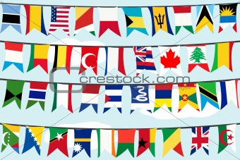 Different flags