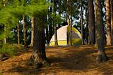Tent Camping Campsite
