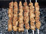 Shish kebab preparation5