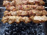 Shish kebab preparation6