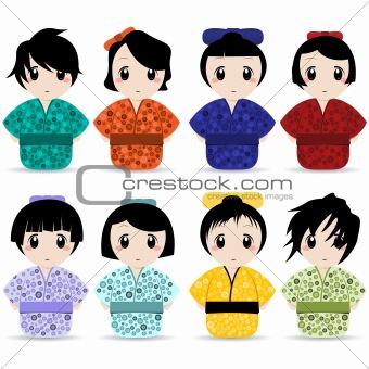 geisha set