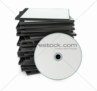 blank cd or dvd case