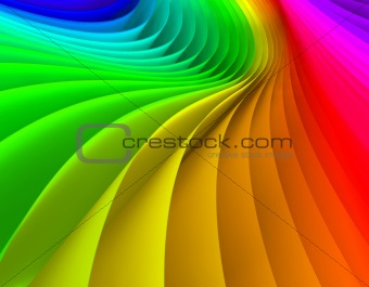 Abstract 3d image