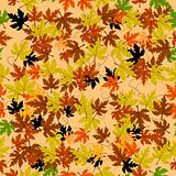 Leaves seamless