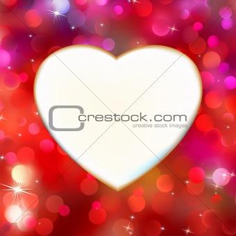 Gold frame in the shape of heart 20111018-3(294).jpg