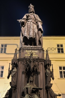 Emperor Charles Statue